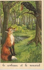Le corbeau et le renard morale